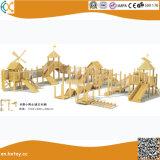Wooden Outdoor Playground Equipment for Children