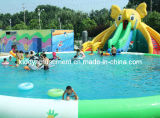 Inflatable Water Slide Inflatable Swimming Pool for Children Playground