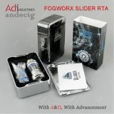 USA Hot Selling! Single Piece Slider Design Cig Vape Tank 5.5ml Fogworx Slider Rta
