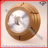 Peripheral V Shape Diamond Grinding Wheel for Glass