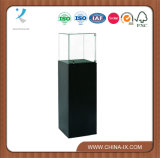 Black Pedestal Display Stand for Museum