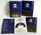 Professional Paper Postcards and Sleeve with DVD CD Packaging Service