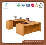 Contemporary Bow Front U-Desk