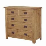 Oak Drawer Chest, Wooden Chest (AD02)