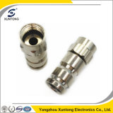 F Connector Rg59 Waterproof Electrical Connector