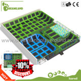 to Buy New Design Indoor Kids and Adult Trampoline Park Commercial Trampoline