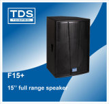 Two-Way 10inch Monitor Audio Speaker F15+ for Portable PA Speaker