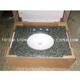 Discount Natural Granite Stone Bathroom Countertop Vanitytop with Sink