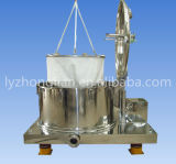 Pd1000 Type Lift Bag Discharge Big Capacity Flat Filter Centrifuge