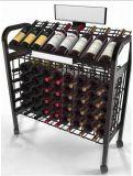 Supermarket Metal Wine Rack (G-wr003)