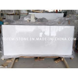 Wholesale Crystal White Stone Marble Slab for Flooring Tile, Tombstone