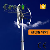 Vertical Wind Turbine 3kw with Free Stand Tower