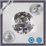 Star Cut Cubic Zirconia Gemstone for Jewelry