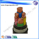 LV/Flame Redartant/Steel Wire Armored/XLPE Insulated Electric Power Cable