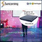 Gorgeous Effect Bar Hotel Nightclub LED Interactive Video Dance Floor