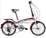 20 Inch 6-Speed Girl or Adult Folding Bike/Bicycle