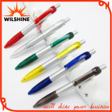 Silver Plastic Ballpoint Pen for Promotion (BP0287S)