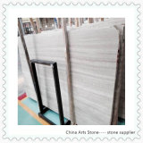 Wooden White Chinese Marble or Granite Construction Material Slab