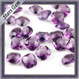 Double Checker Cut Amethyst Synthetic Diamond for Fashion Jewelry