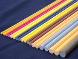 China Solid Round High Strength Durable GRP Rod, FRP Rod, Fiberglass Rod