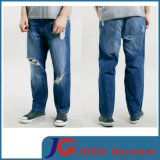 Waven Blue Knee Holes& Loose Fit Men Ripped Trousers (JC3339)