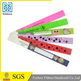 Disposable Tyvek Waterproof ID Wristband for Alibaba IPO