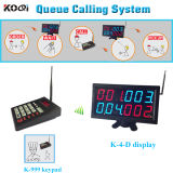 Fast Food Queue Call Manage System Numberic Keypad with Display