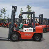 CPC30 Diesel Forklift with Japanese Engine, New Design