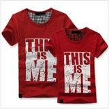 Custom Cotton/Polyester Printed T-Shirt for Men (M368)