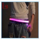 LED Sport Running Safety Reflective Canvas Waist Belts