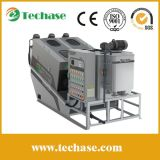(Largest Manufacturer) Techase Multi-Plate Screw Press Sludge Dewatering Machine for Municipal Industrial Wastewater Treatment