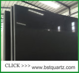 Pure Black Engineered Quartz Stone Slab