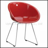 Leisure Plastic Guest Room Relax Chair for Hotel (sp-uc436)