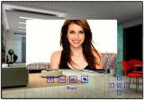 Mirror Indoor Monitor for Villa Video Door Phone System