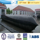 Evergreen Inflatable Cylindrical Rubber Launching Marine Airbags Used for Ships, Vessels, in Turkey and Brazil Shipyards