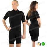 Short Sleeve Top Grade Neoprene Wet Suit with SGS Black