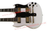 Afanti Music Double Neck 12+6 Strings Electric Guitar (ASG-100)