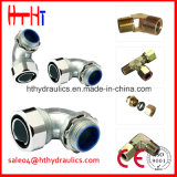 AC Ad Metric Male 24degree Cone Tee Pipe Adapters