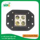12V 24V LED Work Light, 16W Waterproof LED Work Light, IP67 LED Work Light with Ce, RoHS, LED Fog Light