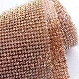Wholesale Hot Fix Aluminium Rhinestone Mesh Sheet Rgl-003