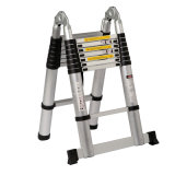 GS Approved Single Side Step Aluminium Telescopic Ladder