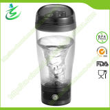 450ml BPA Free Custom Battery Shaker Bottle with Powder Mixer