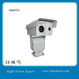 Infrared Thermal Imaging Laser Security IP PTZ Video Camera