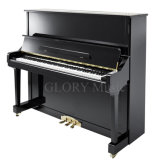 Black Polish Vertical Piano (HU-131E)