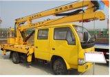 Truck Mounted Hydraulic Lifting Platform Telescopic Aerial Platform Truck