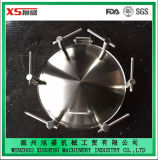 Hot Sale Stainless Steel SUS304 Tank Pressure Circular Manhole Cover