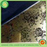 Top 10 Supplier Stainless Steel Sheet Manufactory Laser Etch for Wall Panel
