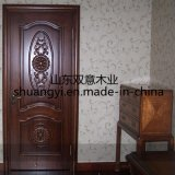China Made Interior MDF Solid Wooden Doors Design