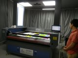 Laser CO2 Printed Fabric Automatic Edge Tracking Cutting Machine