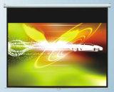 "80""X80"" Manual Screen with Fiberglass Matte White, High Quality"